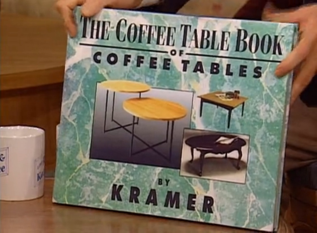 Seinfeld coffee table rascalartsnyc the coffee table book seinfeld rascalartsnyc geotapseo Image collections