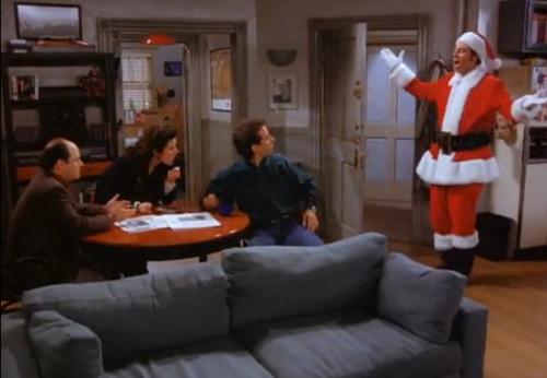 S6-E10 Kramer is Santa