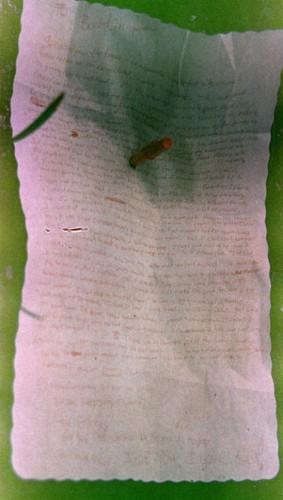 Kur(d)t Cobain's suicide note.